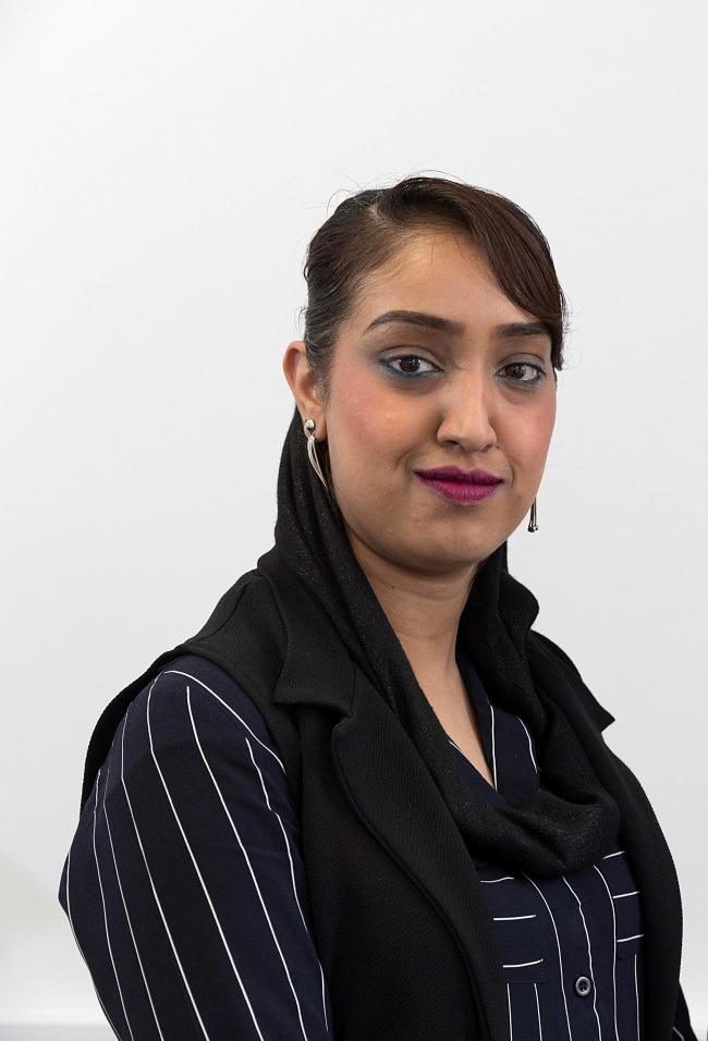 Safia Kauser, the former clerk of Keighley Town Council