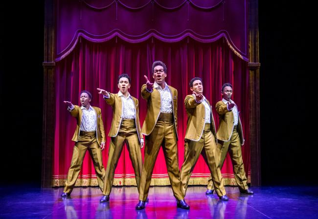 Motown The Musical West End Cast - The Temptations - credit Tristram Kenton..