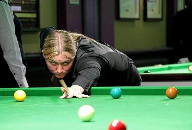 Keighley's Rebecca Kenna says she can't wait to compete at The Crucible for the first time later this month at the Women's Tour Championship