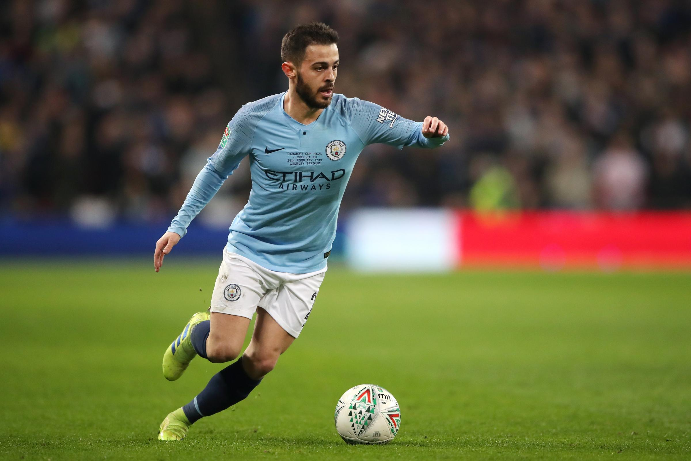 Bernardo Silva is preparing for the pressure of a Manchester derby