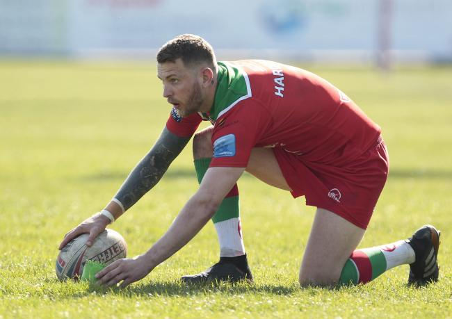 Benn Hardcastle is back for Keighley Cougars after serving a three-match suspension. Picture: Charlie Perry
