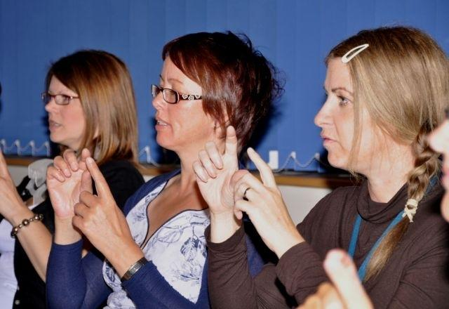 A chance to learn sign language