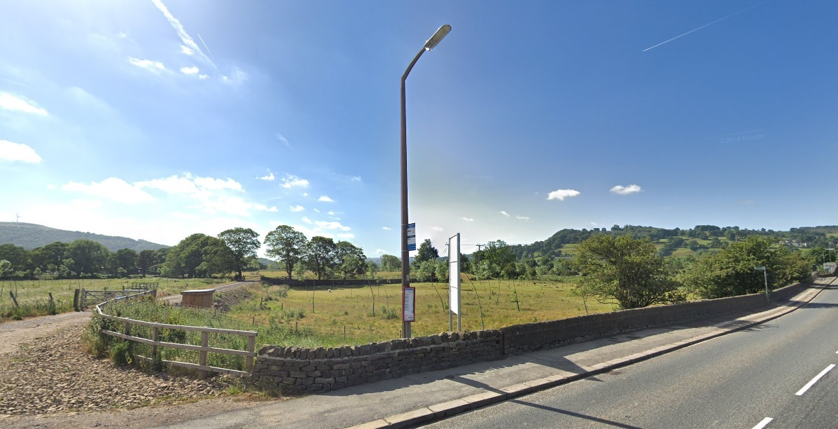 The site of the proposed caravan and cabin park off Keighley Road between Silsden and Steeton. Picture by Google Street View