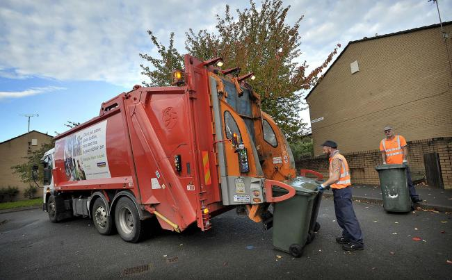 A plea has been made to keep streets clear for bin wagons