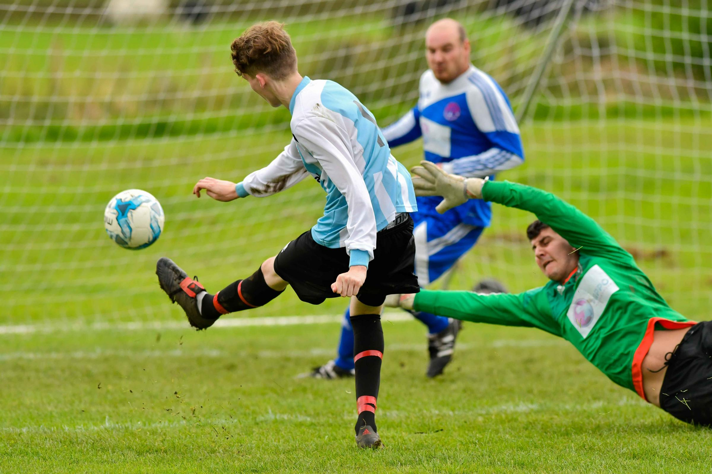 Josh Metcalfe scored a goal for Silsden Whitestar in their final game of the season last week. Picture: Andy Garbutt