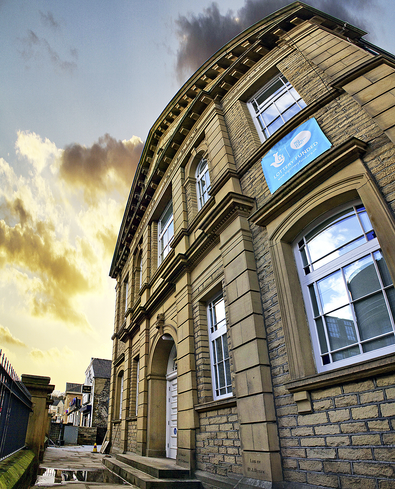 Central Hall, Alice Street, Keighley