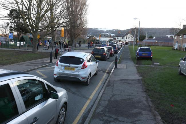 Congestion on a school run