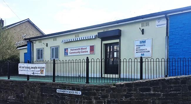 The Hainworth Wood Community Centre in Keighley